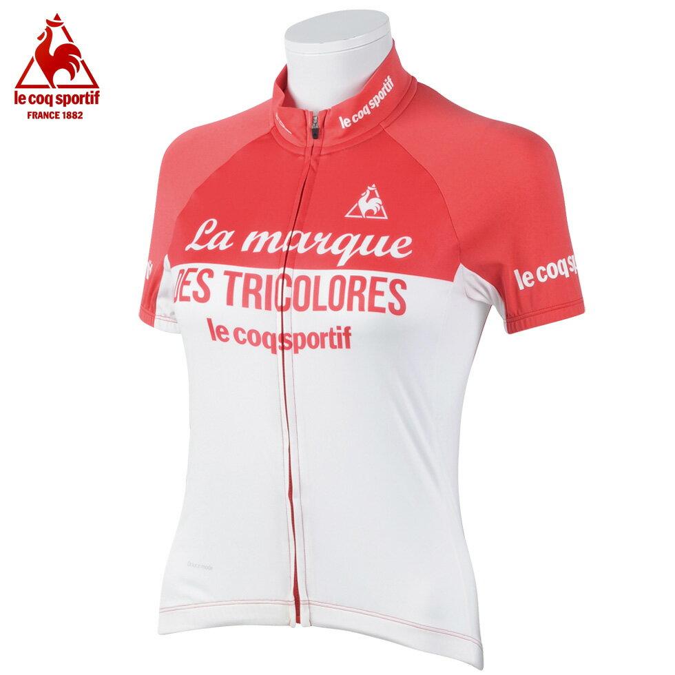 メール便 送料無料 【即納】 ルコック サイクリング 半袖 シャツ ( QC745261 )( サイクリング サイクル ウェア サイクルジャージ サイクルウェア 自転車 )【 le coq sportif レディース 】