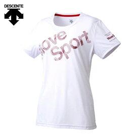 デサント Move Sport Tシャツ レディース 半袖 ドライ 速乾 吸汗 サンスクリーン DMWMJA50