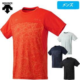 デサント Tシャツ メンズ 半袖 ドライ 速乾 吸汗 MOTION FREE DMMLJA57