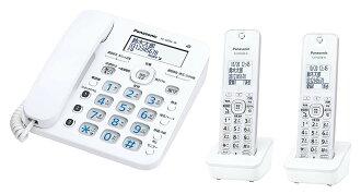 ■Panasonic 파나소닉 VE-GD36DW-W디지털 무선 전화기자기 2대 부착 상당품