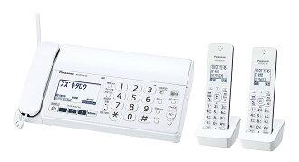 ■Panasonic 파나소닉 KX-PZ210DW-W디지털 무선 보통지 FAX 오타쿠스자기 2대 상당품