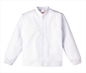 食品工場 白衣 衛生服 作業着 作業ジャンパー レディース 長袖 食品衛生管理システム KAZEN FOOD FACTORY 459-40