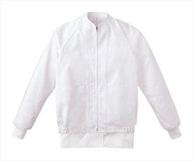 食品工場 白衣 作業着 作業ジャンパー 男女兼用 長袖 食品衛生管理システム KAZEN FOOD FACTORY KZN406-50