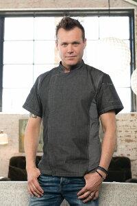 シェフワークス Chef Works コックコート デニム ディレンシー 半袖 CEZ01