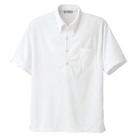 メンズ半袖ニット BDシャツ アイトス ルミエール 介護 107017