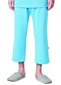 検診衣 302-41 院内着 パンツ ズボンのみ ニット 男女兼用 メディカルウェア 医療 看護 病院 KAZEN MEDICAL