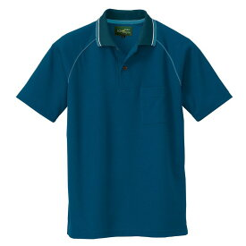 ポロシャツ AZ-50005 男女兼用 半袖 帯電防止 吸汗速乾 スポーツ 医療 介護 アイトス AITOZ