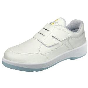 安全靴 JIS 静電靴 ワークグローブ1双プレゼント 8818N白静電 HB-80 作業靴 手袋 シモン