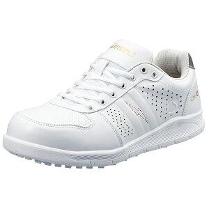 プロスニーカー JSAA A種 認定品 ワークグローブ1双プレゼント NS611白静電 軽作業用 HB-80 作業靴 手袋 シモン