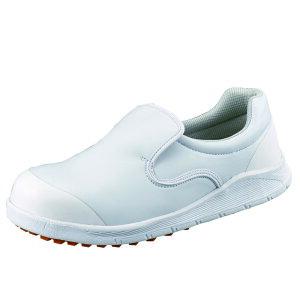 プロスニーカー JSAA A種 認定品 ワークグローブ1双プレゼント SC217T白 軽作業用 HB-80 作業靴 手袋 シモン