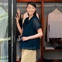 【事務服】パフ袖フリルブラウスT WP325 ハネクトーン早川