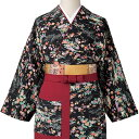 旅館 和食 制服 女性用茶衣着 OD-203/4/5 友禅小紋柄 フードサービス