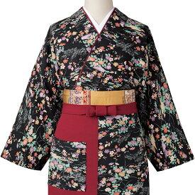 旅館 和食 制服 女性用茶衣着 OD-203/4/5 友禅小紋柄 サーヴォ