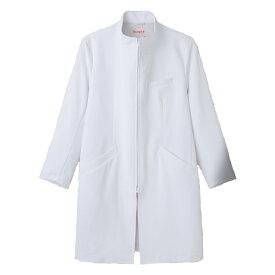医療白衣男性用ドクターコート TXM-003 ラチネダブルクロス トリンプ ナースセンセーション