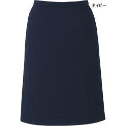 事務服ニットAラインスカートEAS686ストレッチニットカルゼ/エンジョイ
