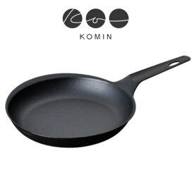 【燕三条製】軽い! KOMIN 鋳鉄 オーバルフライパン24cm (IHオール熱源対応)