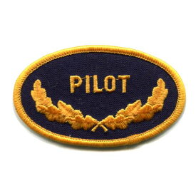 輸入ワッペン〔35-PILOT〕【DM便選択可】【アイロン接着】【楽ギフ_包装】