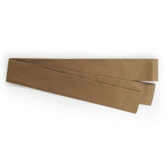 出口彩色頭巾 (頭帶頭巾) 4 × 110 釐米棕色