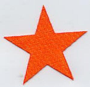 イラストワッペン 5cmサイズ [スター・星A・角星]【DM便選択可】【アイロン接着】【楽ギフ_包装】
