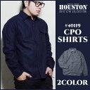 ヘビーオンスシャツ 2015新作『HOUSTON/ヒューストン』 40119 CPO Shirts / CPO シャツ -全2色-「メルトン」「ウール…