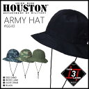 ハット 2015 S/S『HOUSTON/ヒューストン』6649 ARMY HAT / アーミーハット -全4色-「アウトドア」「ストリート」「ミリタリー」「帽子…