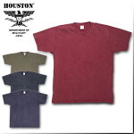 2018S/S『HOUSTON/ヒューストン』21465VINTAGETEE/ビンテージTシャツ-全4色-/ブラック/カーキ/ネイビー/レッド/コットン/【チケット対象】[21465]