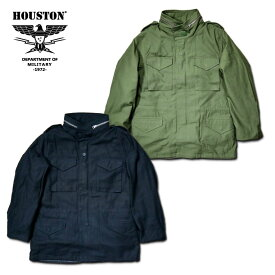 2018A/W『HOUSTON/ヒューストン』50815 M-65 JACKET / M-65 ジャケット -全2色-/ミリタリー/m65/ブラック/オリーブドラブ/ユニオンネットストア[50815]