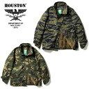 2018A/W『HOUSTON/ヒューストン』50822 M-65 JACKET CAMO / M-65 ジャケット カモ -全2色-/ミリタリー/カモフラージュ/ウッドランド/タ…