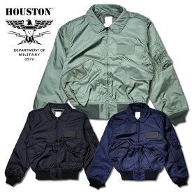 フライトジャケット『HOUSTON/ヒューストン』5cw36p CWU-36/P FLIGHT JACKET / CWU-36/P フライトジャケット -全3色-「日本製」「MADE IN JAPAN」「アメカジ」「ミリタリー」「アクションプリーツ」「空軍」「ライトアウター」「軍」ナイロン【チケット対象】「103」[5cw36p]