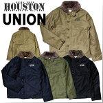 『HOUSTON/ヒューストン』5n-1xN-1DECKJAKCKET/N-1デッキジャケット-全4色-「アウター」【タイトモデル】【雑誌掲載商品】【国内】【チケット対象】[5N-1X]