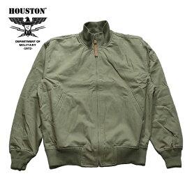 『HOUSTON/ヒューストン』50871 TANKERS JACKET/タンカースジャケット -全1色-/ミリタリー/ライトアウター/コットン/ポリエステル/ポリウレタン/ユニオンネットストア【チケット対象】[50871]