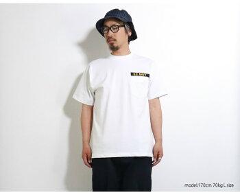 2019S/S『HOUSTON/ヒューストン』21635SUPERHEAVYEMBTEE(USN)/スーパーヘビー刺繍Tシャツ(USN)-全2色-コットン/半袖/シンプル/厚手/丈夫/カジュアル/MILITARY/ミリタリー/ファントム2/PhantomII/F-4/ユニオンネットストア[21635]
