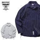2019A/W『HOUSTON/ヒューストン』40625 STRIPE VIYELLA SHIRT / ストライプビエラシャツ -全2色-/ワーク/ヴィンテージ/ユニオンチケッ…