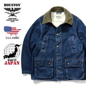 2019A/W『HOUSTON/ヒューストン』50885vw USA DENIM RIDE JACKET/USAデニムライドジャケット -VINTAGE WASH-/ワーク/ヴィンテージ/ビンテージ/デッドストック/日本製/MADE IN JAPAN/コーデュロイ/ヘリンボーン/ユニオンネットストア[50885vw]