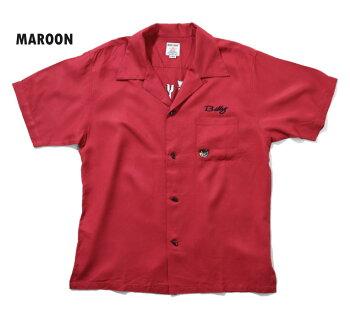 2020S/S『HOUSTON/ヒューストン』40665BOWLINGSHIRT(ALLEYCATS)/ボウリングシャツ(アーリーキャッツ)-全3色-/ボーリング/刺繍/アメカジ/ユニオンネットストア[40665]