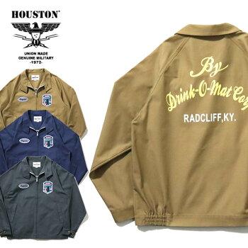 2020S/S『HOUSTON/ヒューストン』51001BOWLINGDRIZZLERJACKET(RADCLIFF)/ボウリングドリズラージャケット-全3色-/ボーリング/ビンテージ/パッチ/ユニオンネットストア[51001]
