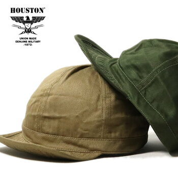 2020S/S『HOUSTON/ヒューストン』6774USMCHBTCAP/USMCHBTCAP-全2色-/へリンボン/ヘリンボーン/ミリタリー/マリンコープ/海軍/ユニオンネットストア[6774]