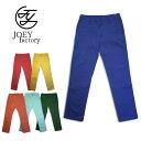 『JOEY FACTORY/ジョーイ ファクトリー』1314s TAPERD CHINO PANTS /テーパード チノパンツ -全6色-/コットン/ピンク/グリーン/イエロ…