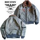 【国産】フライトジャケット『HOUSTON/ヒューストン』 5503 B-15A FLIGHT JACKET/B-15Aフライトジャケット-オリーブド…