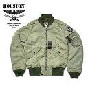 フライトジャケット『HOUSTON/ヒューストン』 5l-2X L-2 FLIGHT JACKET / L-2 フライトジャケット -全1色- 「日本製」「made in japan…