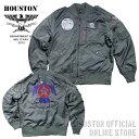 『HOUSTON/ヒューストン 』 50563 THUNDERBIRDS L-2B FLIGHT JACKET / サンダーバーズ L-2B フライトジャケット -全1色-「アメカジ」「…