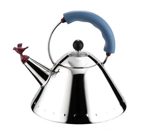 【正規輸入品】 ALESSI アレッシィ Bird Kettle バードケトル ブルー 9093