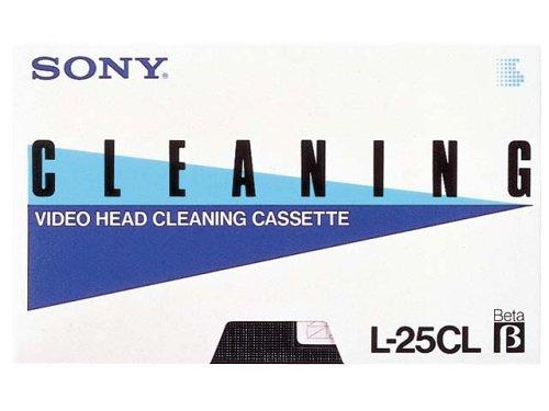 ソニー ベータビデオ用ヘッドクリーニングカセット L-25CLP