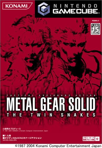 METAL GEAR SOLID THE TWIN SNAKES