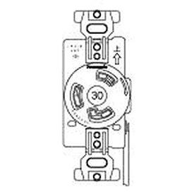 【受注生産品】Panasonic 接地2P30A引掛埋込コンセント 赤 WF2330R1[un]