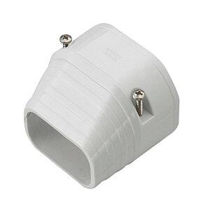 因幡電工 配管化粧カバー 端末カバー 機器接続部用 ホワイト 10個入 LDEN-70-W (10)[un]