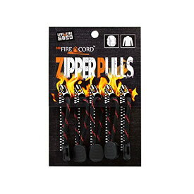 Bush Craft(ブッシュクラフト) ファイヤーコードジッパープル(Fire Cord Zipper Pulls)シンレッドライン 02-03-550f-0014[un]