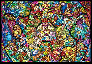 4000ピース ジグソーパズル ディズニー オールスターステンドグラス(102x146cm)[un]