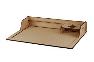 コバアニ模型工房 モデリングボード 1 木製組み立て式 模型製作用作業台 TW-023[un]