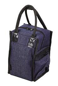 パール金属 ランチバッグ デニム 16×15×26.5cm(持ち手含まず) ランチジャー用バッグ オクタス HB-3902[un]